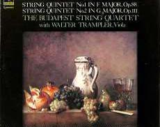 ブタペストSQ/ブラームス「弦楽五重奏曲1,2番」|CBS SONY