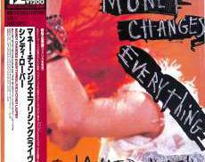 シンディ・ローパー「マネー・チェンジズ・エブリシング(ライヴ EPICソニー 12INCシングル