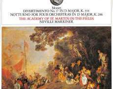 マリナー指揮/モーツアルト「喜遊曲17番K、334」|ロンドンレコード