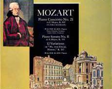 クリーン「モーツアルト ピアノ協奏曲21番 ソナタ11番」|TURNABOUT