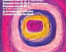ビルスマ/ヒンデミット 室内音楽第1,3,4番|TELEFUNKEN