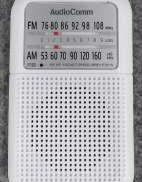 ポケットラジオ AUDIOCOMM