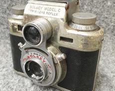【ジャンク】二眼カメラ|BOLSEY