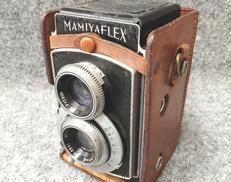 【ジャンク】二眼レフカメラ|MAMIYA