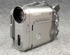 【ジャンク】DVDビデオカメラ CANON
