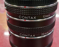 CONTAX EXTENSION TUBE SET|CONTAX
