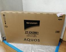 【未開封品】42インチ液晶テレビ SHARP