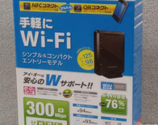 無線LAN規格:IEEE802.11b/g/n I・O DATA