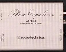 フォノイコライザー AUDIO-TECHNICA