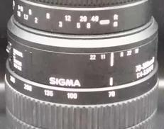 レンズ SIGMA