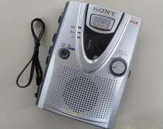 ポータブルカセットレコーダー SONY