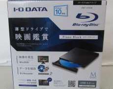 ポータブルブルーレイドライブ I·O DATA