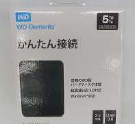 WD ELEMENTS (HDD:5TB)|WESTERN DIGITAL