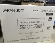 未使用品 液晶モニター JAPANNEXT