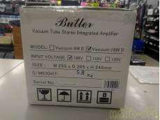 プリメインアンプ(管球式) BUTLER
