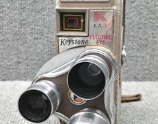 【ジャンク】8mmカメラ KEYSTONE