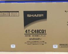 【未開封】4K有機EL液晶TV【送料無料】【一年保証】|SHARP