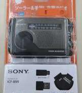 手回し充電ラジオ SONY