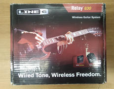 高品質なギターケーブルに匹敵するワイヤレスギターシステム LINE6