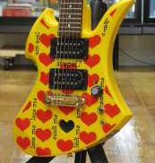 アンプ内蔵ギター BURNY