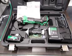 充電式ディスクグラインダー|HIKOKI