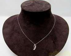 K10ネックレス 宝石付きネックレス