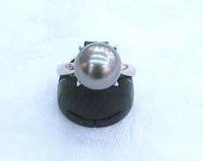 PT900|宝石付きリング