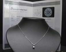 0.359ctダイヤモンドネックレス|宝石付きネックレス
