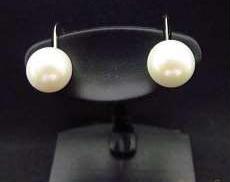Pt900|宝石付きイヤリング