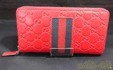 ラウンドファスナー財布|GUCCI