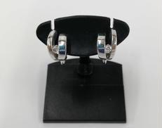 K18ダイヤ付イヤリング|宝石付きイヤリング