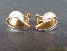 PT900・K18イヤリング|宝石無しイヤリング