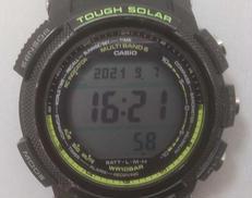 ソーラー時計|CASIO