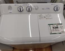 家庭用二層式電気洗濯機 HAIER