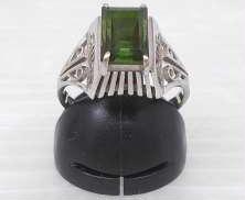 金|宝石付きリング
