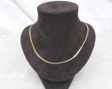K18喜平ネックレス2面カット 宝石無しネックレス