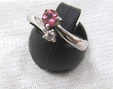 PT900リング(石付き)|宝石付きリング