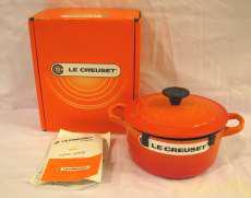 16cmココット オレンジ LE CREUSET