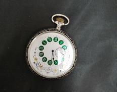 手巻き懐中時計|ブレベ