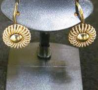 金|宝石無しイヤリング