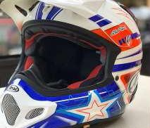 オフロードバイクヘルメット ARAI