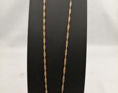 K18石付きネックレス|宝石付きネックレス