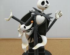 【破損有】ジャックスケリントン陶人形 DISNEY
