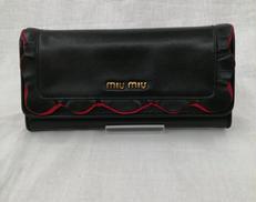 ホック長財布|MIUMIU