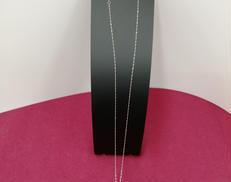 PT850ネックレスPT999トップ|宝石付きネックレス