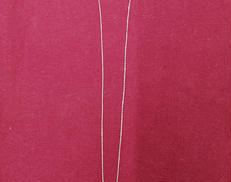 K10WGネックレス|宝石付きネックレス