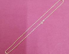 750ネックレス|宝石無しネックレス