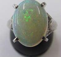 PT900リング 石付き 宝石付きリング