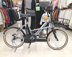 店頭受け渡しのみ 20インチ電動アシスト自転車 前カゴ付 YAMAHA