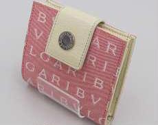 二つ折り財布 ロゴマニア|BVLGARI